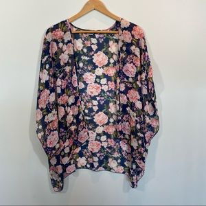 2 FOR $10 - Wet Seal Floral Printed Shawl